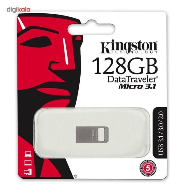 img فلش مموری کینگستون مدل DTMC3 ظرفیت 128 گیگابایت Kingston DTMC3 Flash Memory - 128GB