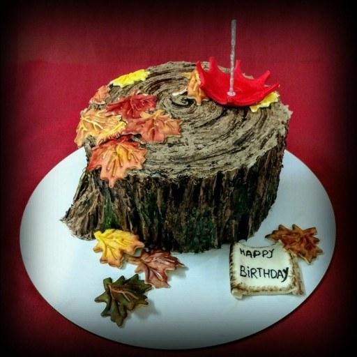کیک تولد پاییز
