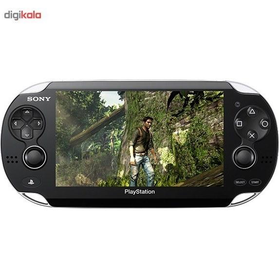 تصویر کنسول بازی سونی مدل پی اس ویتا وای فای به همراه بازی Uncharted Sony PlayStation Vita Wi-Fi Game Console With Uncharted Game