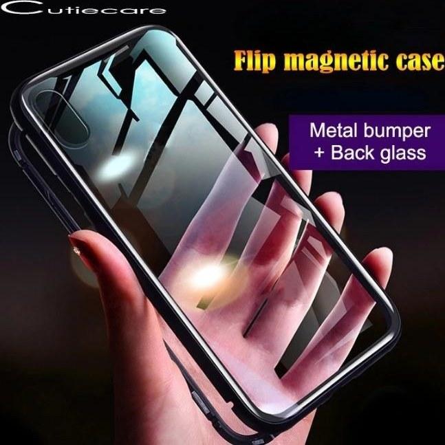 قاب مگنتی شیشه ای گوشی سامسونگ Magnet Bumper Case Samsung A20E | Magnet Bumper Case Samsung A20E
