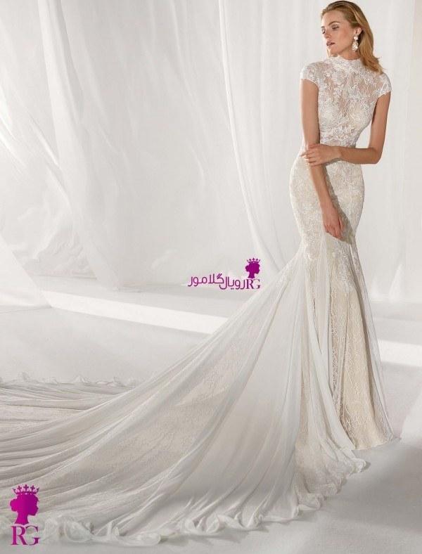 تصویر لباس عروس ماهی جدید 2020