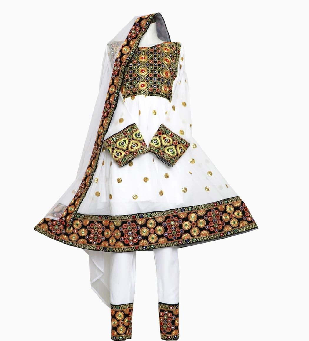 تصویر لباس گند افغانی کد KH-01029