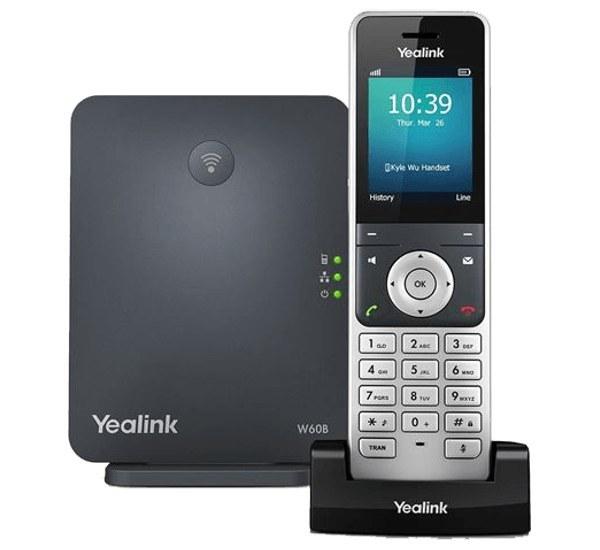 تصویر تلفن تحت شبکه یالینک مدل W53P Yealink W53P Wireless IP Phone