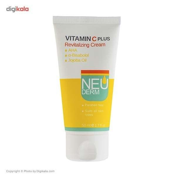 تصویر کرم احیا کننده Vitamin C Plus نئودرم 50 میلی لیتری ا - -