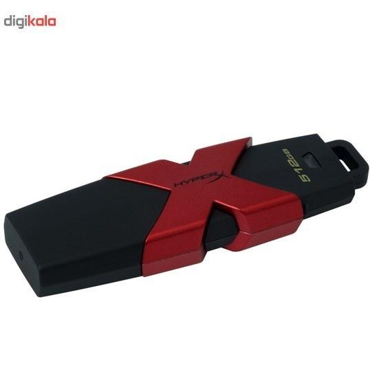 img فلش مموری کینگستون مدل HyperX Savage ظرفیت 512 گیگابایت Kingston HyperX Savage Flash Memory - 512GB