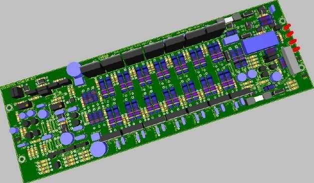main images نقشه ساخت آمپلی فایر 800 وات