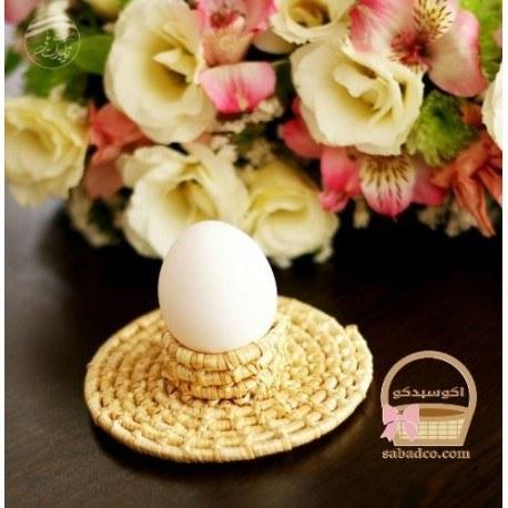 تصویر جا تخم مرغی طلایی