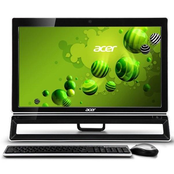 تصویر کامپیوتر آماده ایسر با پردازنده i5 و صفحه نمایش لمسی کامپیوتر آماده AIO ایسر Veriton-Z4621G-Core-i5-4GB-500GB-1GB-Touch