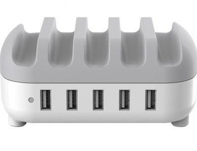 image داک شارژ هوشمند 5 پورت اوریکو Orico DUC-5P 5Ports Smart Charging Station