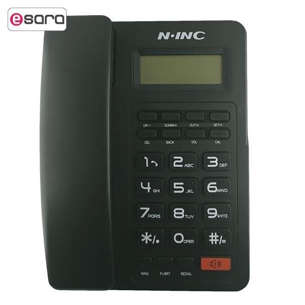تصویر تلفن ان آی ان سی مدل KX T8204CID N.INC KX T8204CID Phone