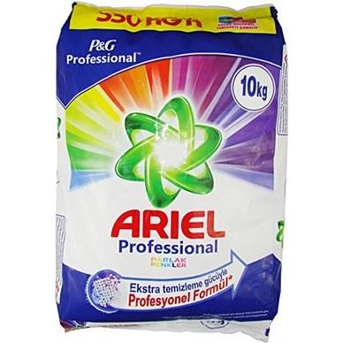 تصویر پودر ماشین لباسشویی آریل ARIEL درجه دو وزن ۱۰ کیلوگرم