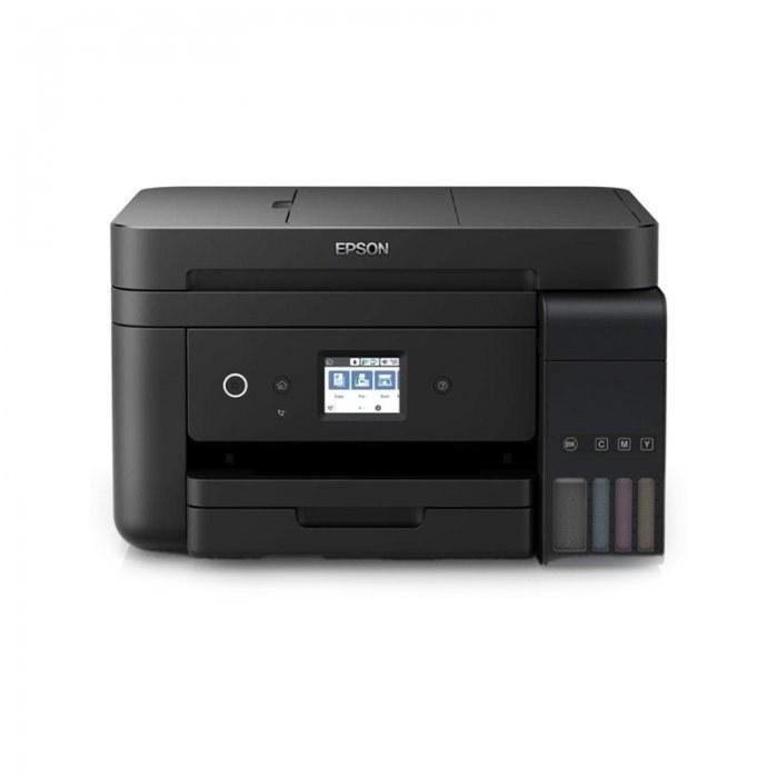 تصویر پرینتر جوهرافشان چهار کاره مخزن دار اپسون مدل L6190 Epson L6190w Ink Tank inkjet Printer