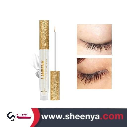 تصویر تقویت کننده مژه و ابرو لانبنا LANBENA Eyelash Growth Eye Serum