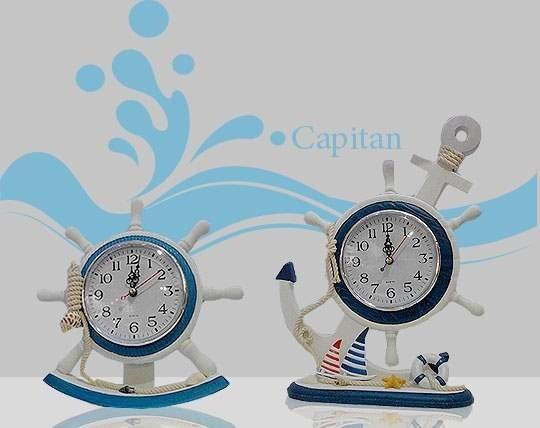 ساعت دکوری چوبی capitan