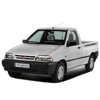 خودرو سايپا 151 دنده اي سال 1396 | Saipa Pickup 151 1396 MT