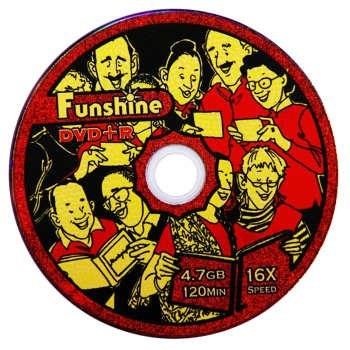 دی وی دی خام فانشاین مدل Fun50 بسته 50 عددی |