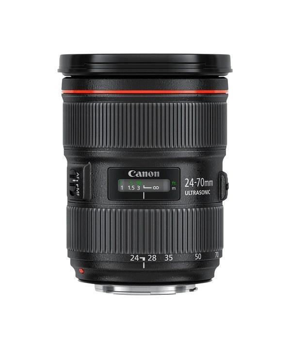 لنز دوربین عکاسی ۷۰ میلیمتر کانن | Canon EF 24-70mm f/2.8L II USM Camera Lens