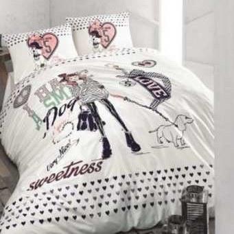 سرویس روتختی ایسیمو هوم برند مدل My Little Dream دو نفره 4 تکه |