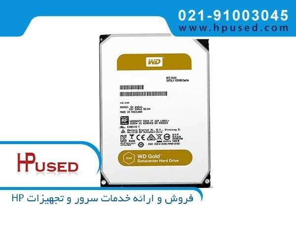 تصویر هارد سرور وسترن دیجیتال Gold 8TB SATA WD8002FRYZ