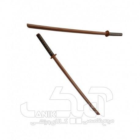 تصویر شمشیر چوبی بوکن قهوه ای