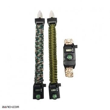 خرید دستبند پاراکورد چاقو دار Knife Paracord