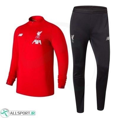 ست نیم زیپ شلوار لیورپول قرمز Liverpool Training Tracksuit Red 2019-20