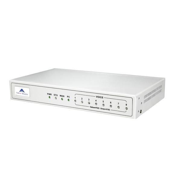 تصویر NewRock MX8G-8S VoIP Gateway گیت وی نیوراک مدل MX8G-8S