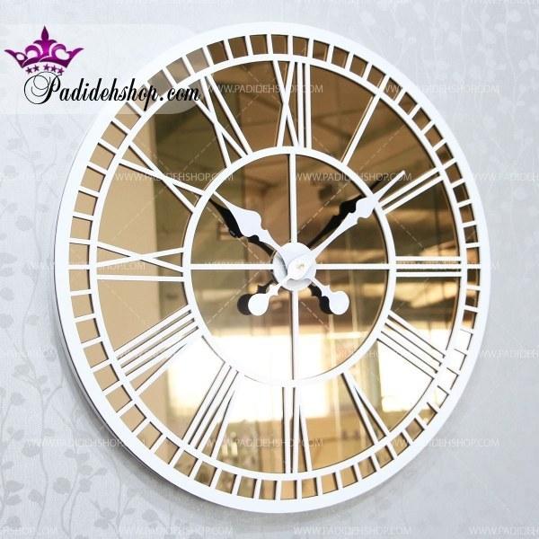 ساعت دیواری آینهای گراند برنزی |