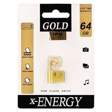 عکس فلش مموری اکس انرژی مدل گلد ظرفیت 64گیگیابایت X_Energy Gold 64GB USB 3.0 فلش-مموری-اکس-انرژی-مدل-گلد-ظرفیت-64گیگیابایت