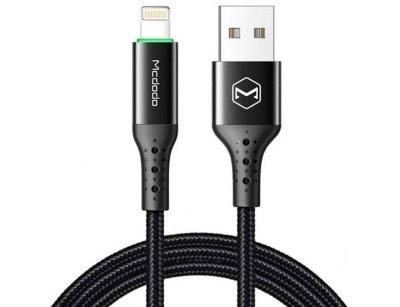 main images کابل شارژ هوشمند لایتنینگ مک دودو Mcdodo Auto Power Off Lightninig Cable 1.8m CA-741