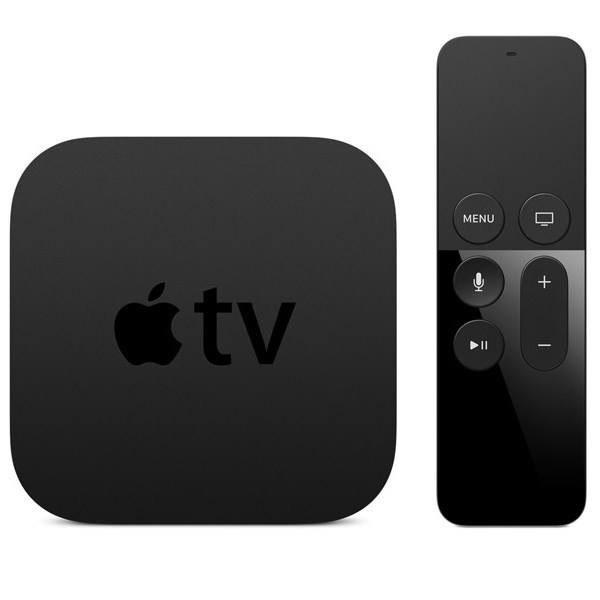 تصویر پخش کننده تلویزیون اپل مدل Apple TV 4K نسل چهارم با 32 گیگابایت Apple TV 4K 4th Generation Set-Top Box - 32GB