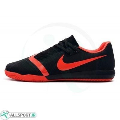 کفش فوتسال نایک فانتوم طرح اصلی مشکی قرمز Nike Phantom Vnm Pro IC Black Bright Crimson