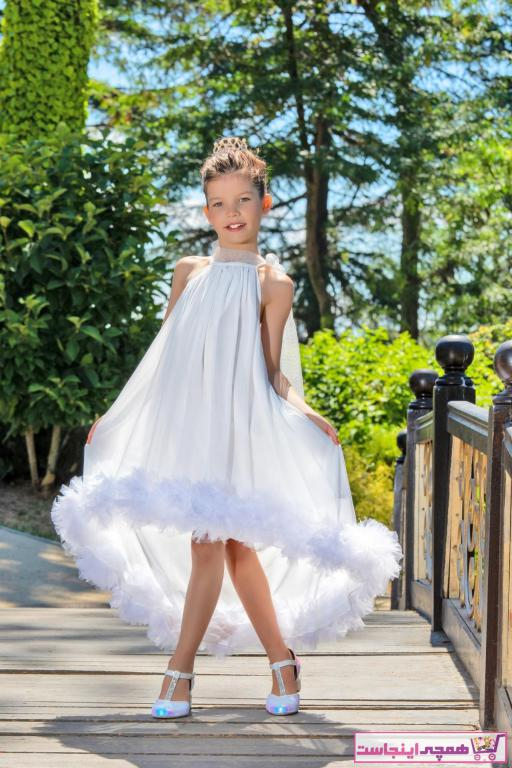 تصویر  لباس مجلسی 2021 دخترانه برند Baby DS کد ty43534678