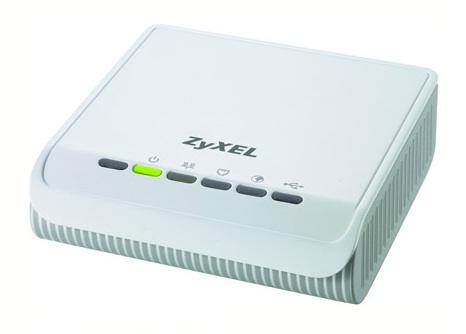 ZyXEL P-660RU-T1 v3s ADSL2+ Wired Modem Router