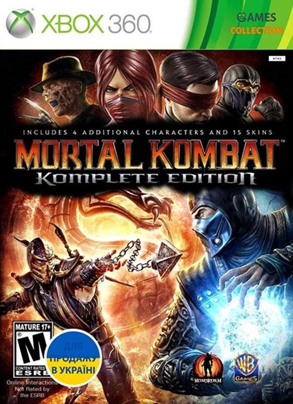 تصویر خرید بازی Mortal Kombat Komplete Edition برای ایکس باکس 360