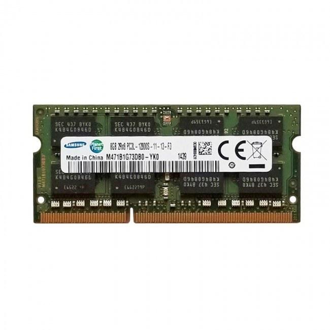 main images رم لپ تاپ سامسونگ مدل DDR3 1600MHz ظرفیت 8 گیگابایت