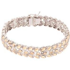 عکس دستبند طلا 18 عیار زنانه کد 56542  دستبند-طلا-18-عیار-زنانه-کد-56542