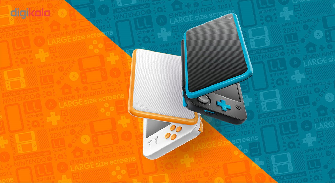 img مجموعه کنسول بازی نینتندو مدل New Nintendo 2DS XL Nintendo New Nintendo 2DS XL Gaming Consoles Bundle