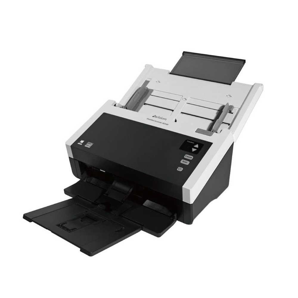 تصویر اسکنر حرفه ای اسناد مدل AD240  ای ویژن ا Professional document scanner of AD240 eVision model Professional document scanner of AD240 eVision model