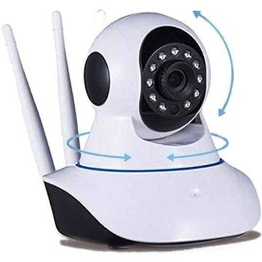 تصویر دوربین چرخشی تحت شبکه (Baby Camera ) Wireless IP Camera WiFi IR Night Baby Cam 1080P