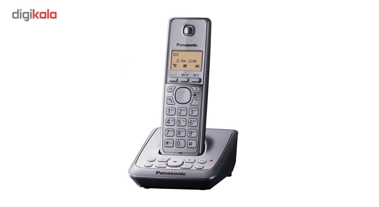 تصویر گوشی تلفن بی سیم پاناسونیک KX-TG2721 Panasonic KX - TG2721 Wireless Phone