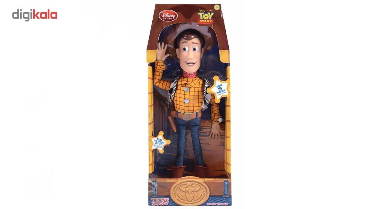 تصویر اکشن فیگور وودی مدل Toy Story Disney