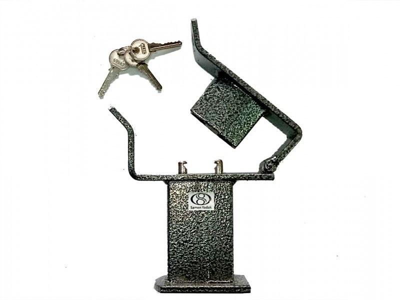 تصویر قفل پدال دو قفله