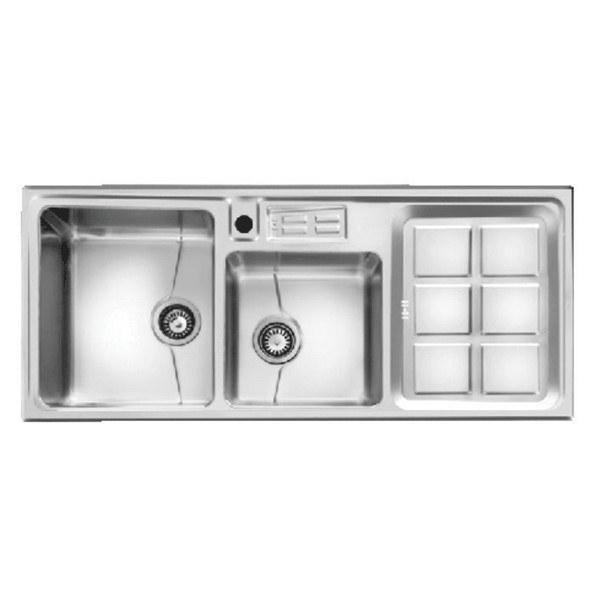 تصویر سینک ظرفشویی اخوان مدل ۳۱۸S توکار باکسی