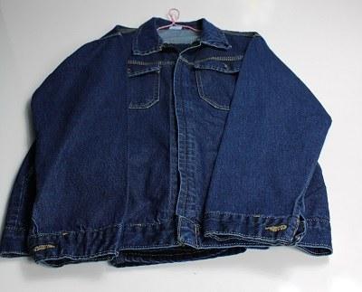 تصویر لباس کار لی دو تکه زیب دار سایز 3XL
