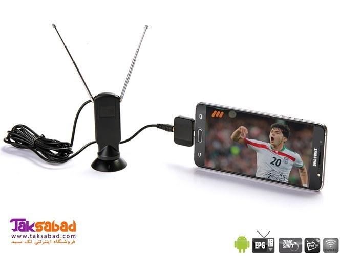 تصویر گیرنده دیجیتال موبایل اندروید Pad TV PT360 MyGica PT360 DVB-T2 Pad TV Tuner Receiver For Android