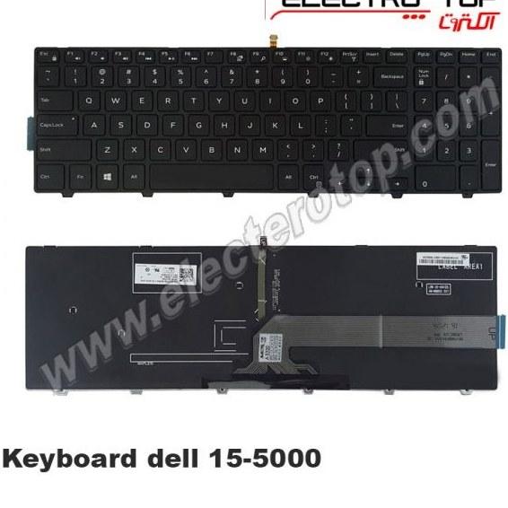 تصویر Keyboard Dell 15-5000 with Back Light