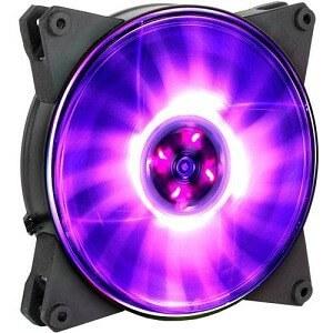 main images فن کیس کولرمستر مدل مستر فن ام اف ۱۲۰ ال آر جی بی Cooler Master Masterfan LITE MF120L RGB Case Fan