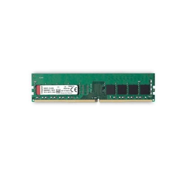 تصویر رم دسکتاپ DDR4 تک کاناله 2400 مگاهرتز CL17 کینگستون مدل KVR24N17S6 ظرفیت 4 گیگابایت