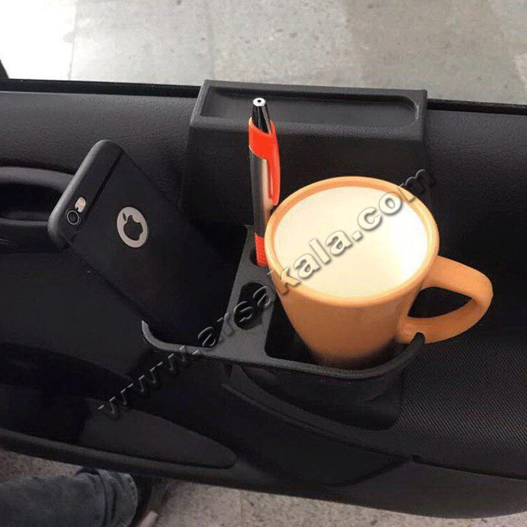 جا لیوانی و لوازم کنار شیشه خودرو |